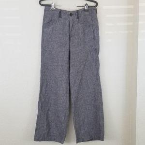 Pilcro and the Letterpress linen pants sz 0